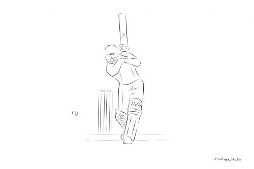Cover Drive pos