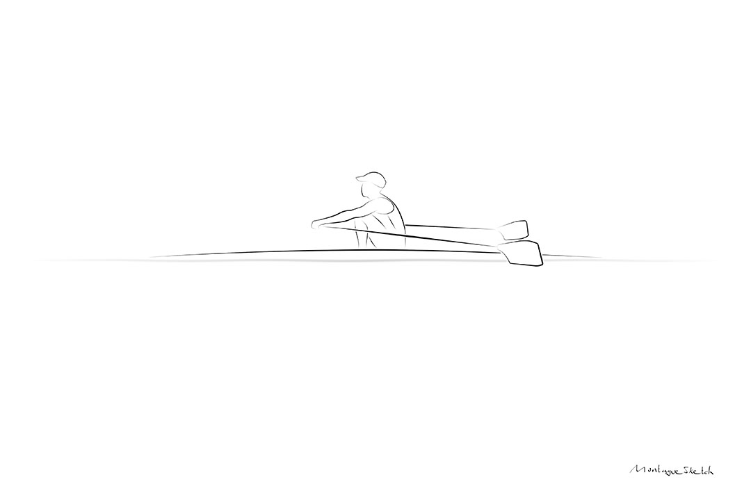 Sculler Side View pos